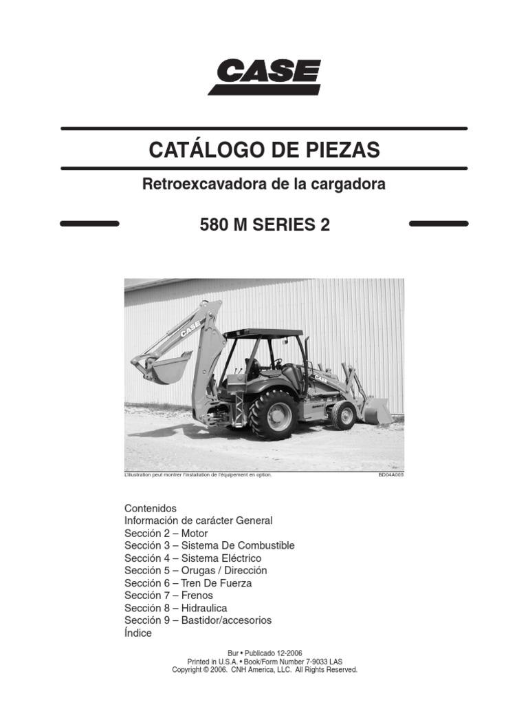 Case catalogo tecnico 580m for Catalogo case