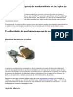 tecnicos madrid empresa de mantenimiento en la capital de españa