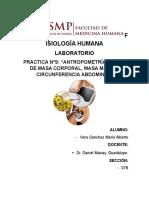 Informe N°8 Lab. de Fisiologia