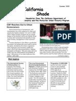 California Shade Newsletter, Summer 2005 ~ California Urban Forestry Program