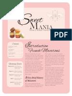 Sweet Mania Newsletter