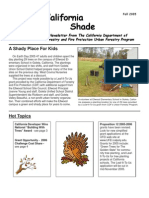 California Shade Newsletter, Fall 2005 ~ California Urban Forestry Program
