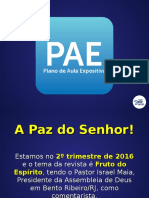 pae02 - Frutos do Espírito