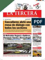 Diario La Tercera 01.06.2016