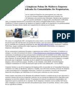 Top Clean Empresa Limpiezas Palma De Mallorca Empresa De Limpieza Especializada En Comunidades De Propietarios,