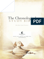 Chronological Study Bible Introduction
