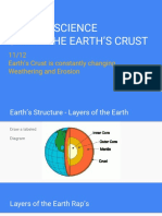 11-12 earths crust and weathering and erosion