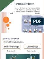 What is Phonetics