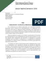 Examen Modular - VII Semestre