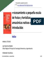 Procesamiento a pequeña escala de frutas y hortalizas amazónicas  nativas e introducidas FAO.pdf