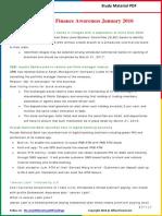 Banking & Finance Awareness 2016(Jan-Apr) by AffairsCloud (1)
