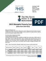 2015 Poverty Fact Sheet
