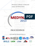 1st Euro-Mediterranean Conference on Structural Dynamics and Vibroacoustics, Medyna2013 - Proceedings