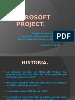 Diapositivas de-microsoft Project