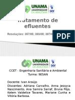 Tratamento de Efluentes - Finalizado