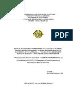 Servicios Profesionales Jm (Informe de Pasantia Rutas Aereas c.a.) Noviembre 2009