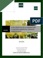 Guia Didactica Economia Ambiental 2014-15