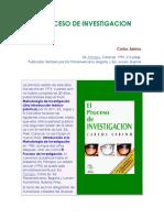 Proceso Investigacion epistemologia