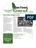 Center for Urban Forest Research Newsletter, Spring 2003