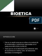 Bioetica Clase I