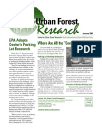 Center for Urban Forest Research Newsletter, January 2002