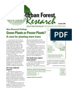 Center for Urban Forest Research Newsletter, October 2001