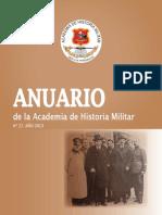 Anuario de Historia Militar