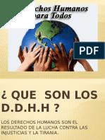 Los Derechos Humanos Agustin