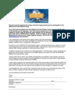 WSBT Weather Camp Parent Permission Letter
