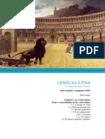 Unidad IV. Los verbos latinos.
