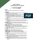 Back Flushing - Basic Pumping Standard Operating Guidelines