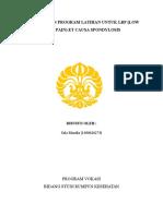 Fisioterapi pada LBP et causa spondylosis