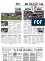 The Daily Tar Heel for Jun. 2, 2016