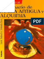 Diccionario de Magia Antigua y Alquimia - Enric Balach