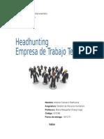 Headhunting y Empresas de Trabajo Temporal