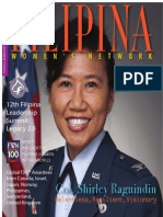 FWN Magazine 2015 - Col. Shirley Raguindin