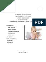 Enfermedades Respiratorias y Diarreicas en El Niño