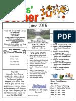 Kids Corner June 2016