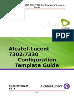 Etisalat Egypt Configuration Template R4.4.05 V1.2
