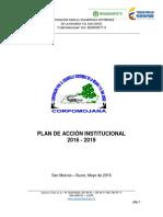 Plan de Acción Corpomojana 2016-2019