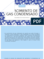 5.5 Yacimiento de Gas Condensado