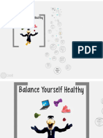 Balance Yourself Healthy Presentation
