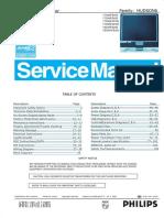 Philips 190x6_170x6 Service Manual