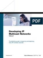 Developing IP Multicast Networks. Vol 1