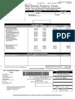 Miami Dade County Real Estate 01 4138 080 3530 2014 Annual Bill