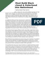 Black Afrikan Brotherhood Within Nationhood