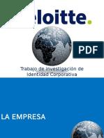 Deloitte Presentacion Imagen Corporativa 2010