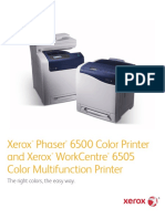 Xerox® Phaser® 6500 and Xerox® WorkCentre® 6505