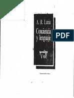 Conciencia y Lenguaje