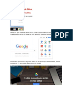 Actividad 12 Google Drive